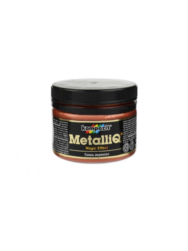 Краска металлик KOMPOZIT METALLIQ МIДЬ декоративная