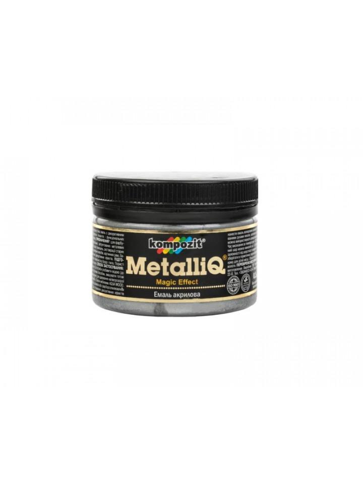 Краска металлик KOMPOZIT METALLIQ ПЛАТИНА декоративная