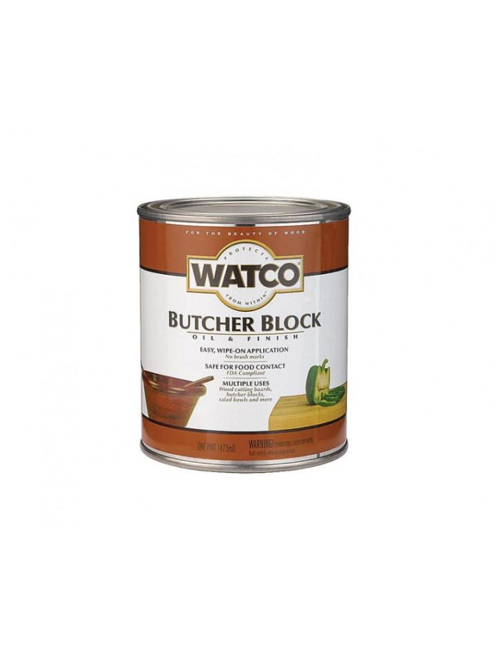Масло вологозахисної WATCO BUTCHER BLOCK для обробних дощок і стільниць