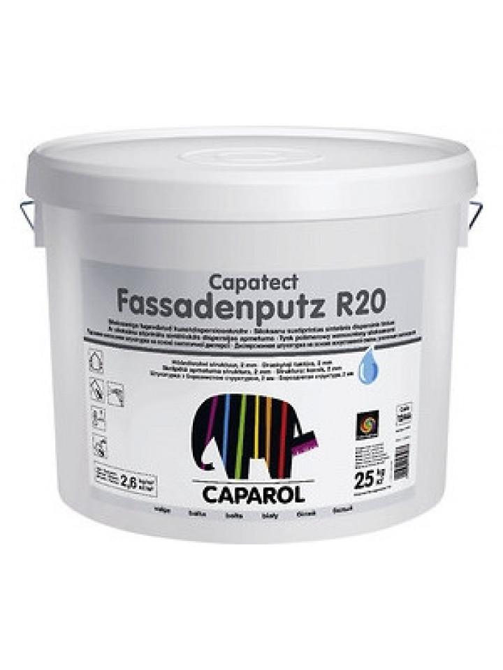 Штукатурка акрилова CAPATECT-FASSADENPUTZ R20 короїд (Україна)