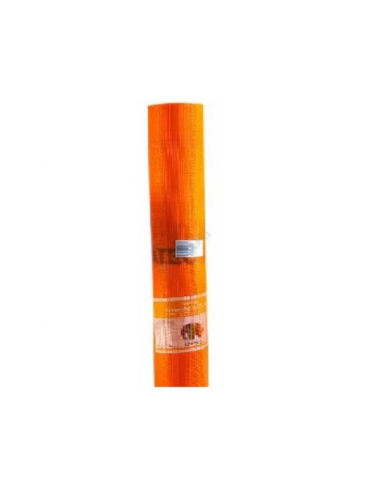 Сетка армирующая CAPATECT-GEWEBE 645/00, плотность 150 гр/м2 55м2 оранжевый