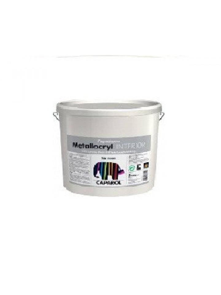 Краска металлик CAPADECOR METALLOCRYL INTERIOR декоративная