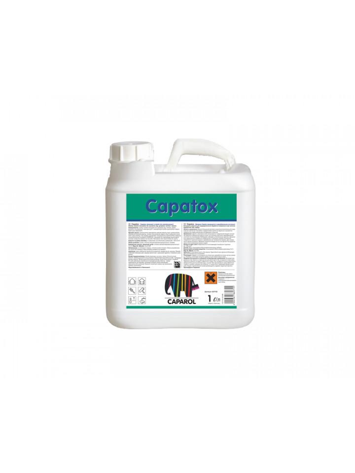 Грунтовка антисептическая CAPATOX для минеральных поверхностей 1л бесцветный