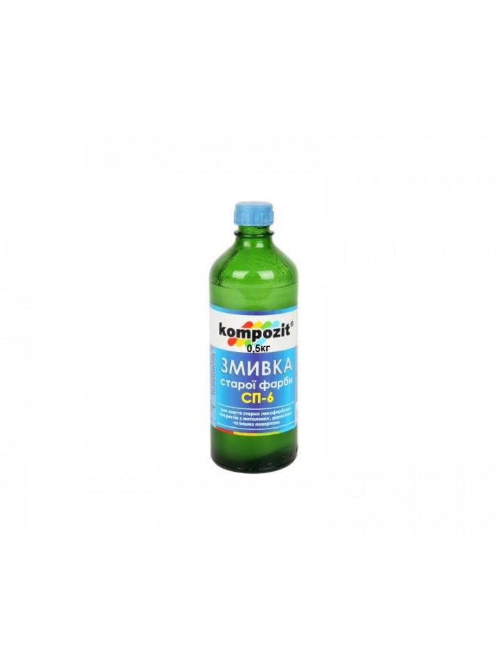 Смывка органическая KOMPOZIT СП-6 для удаления старой краски