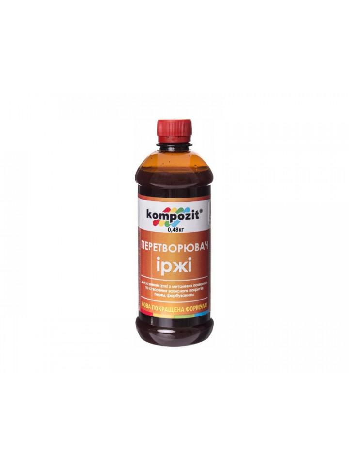 Преобразователь ржавчины фосфатирующий KOMPOZIT для ржавого металла