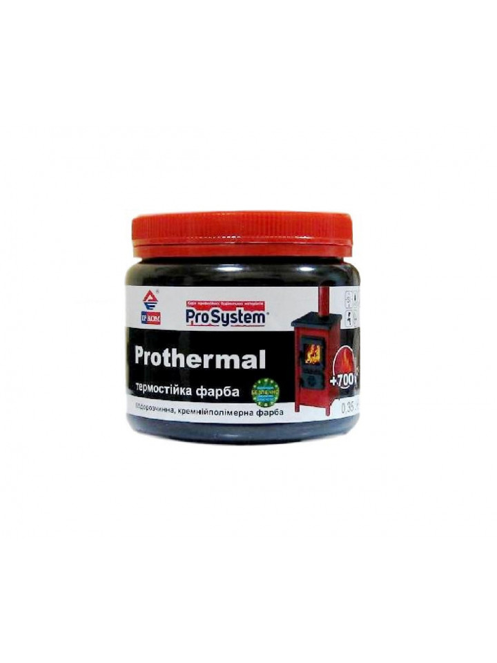 Емаль кремній полімерна ІРКОМ PROTHERMAL термостійкий