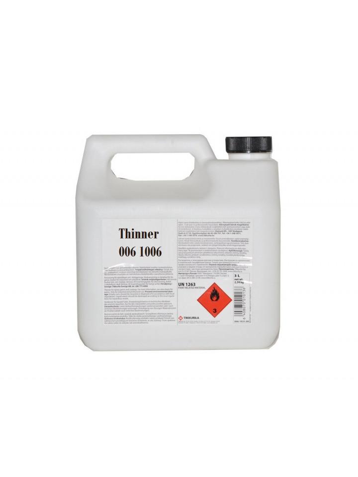 Растворитель органический TIKKURILA 1006 для материалов TEMALAC