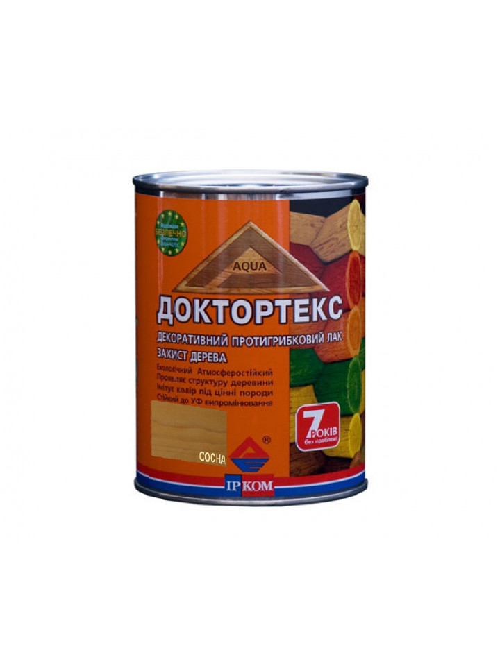 Лазур-лак антисептичний ІРКОМ ДОКТОРТЕКС ІР-013 для деревини