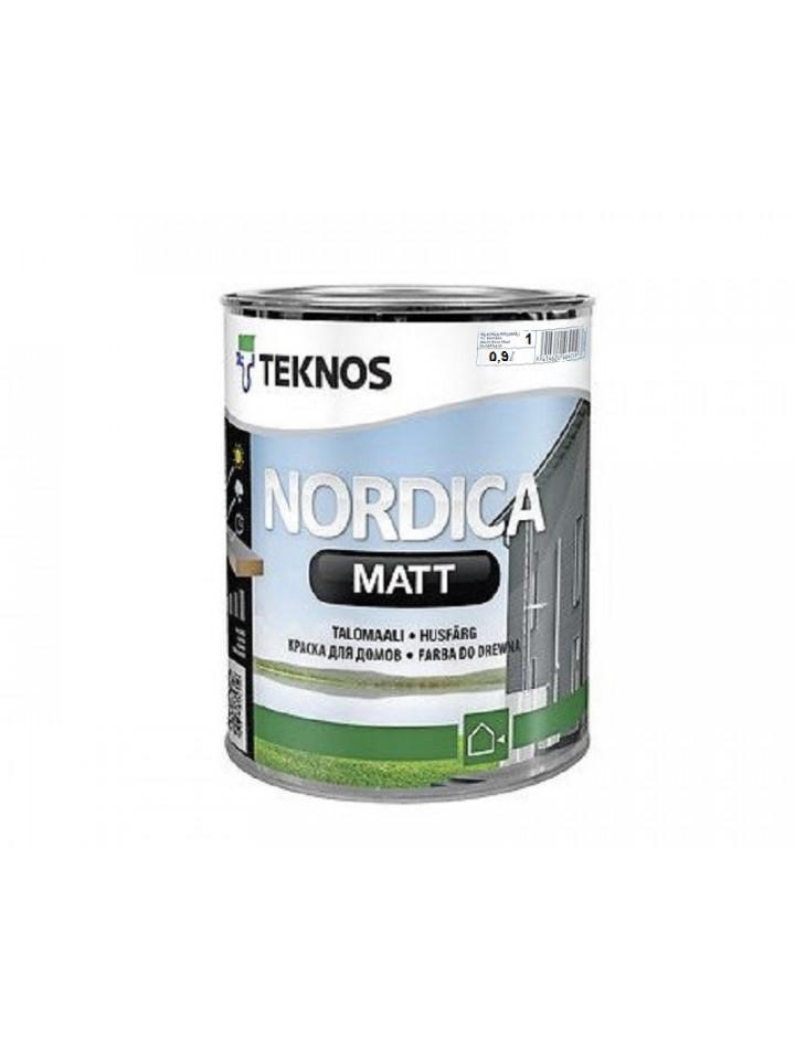 Фарба акрилатна TEKNOS NORDICA MATT для деревини