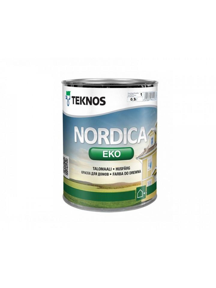 Фарба акрилатна TEKNOS NORDICA ECO для деревини