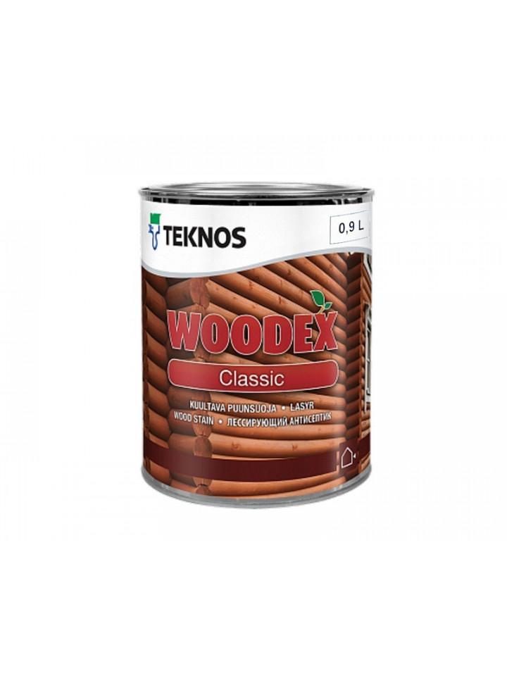 Лазурь-лак антисептический TEKNOS WOODEX CLASSIC для древесины