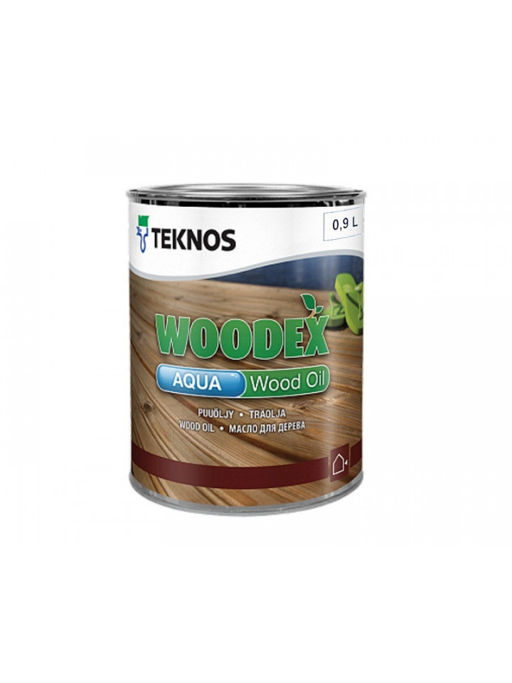 Масло вологозахисної TEKNOS WOODEX AQUA WOOD OIL для деревини