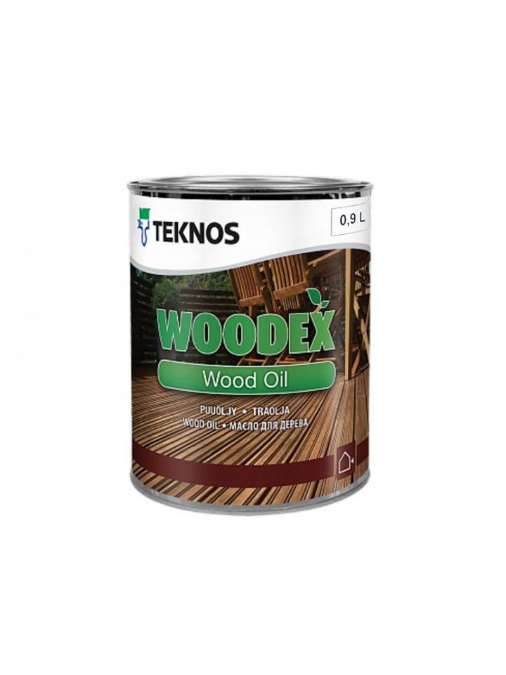 Масло вологозахисної TEKNOS WOODEX WOOD OIL для деревини