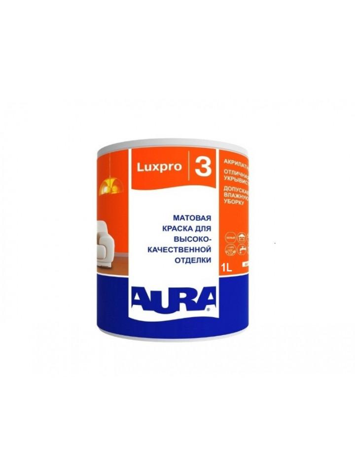 Краска  акриловая AURA LUX PRO 3 для потолков