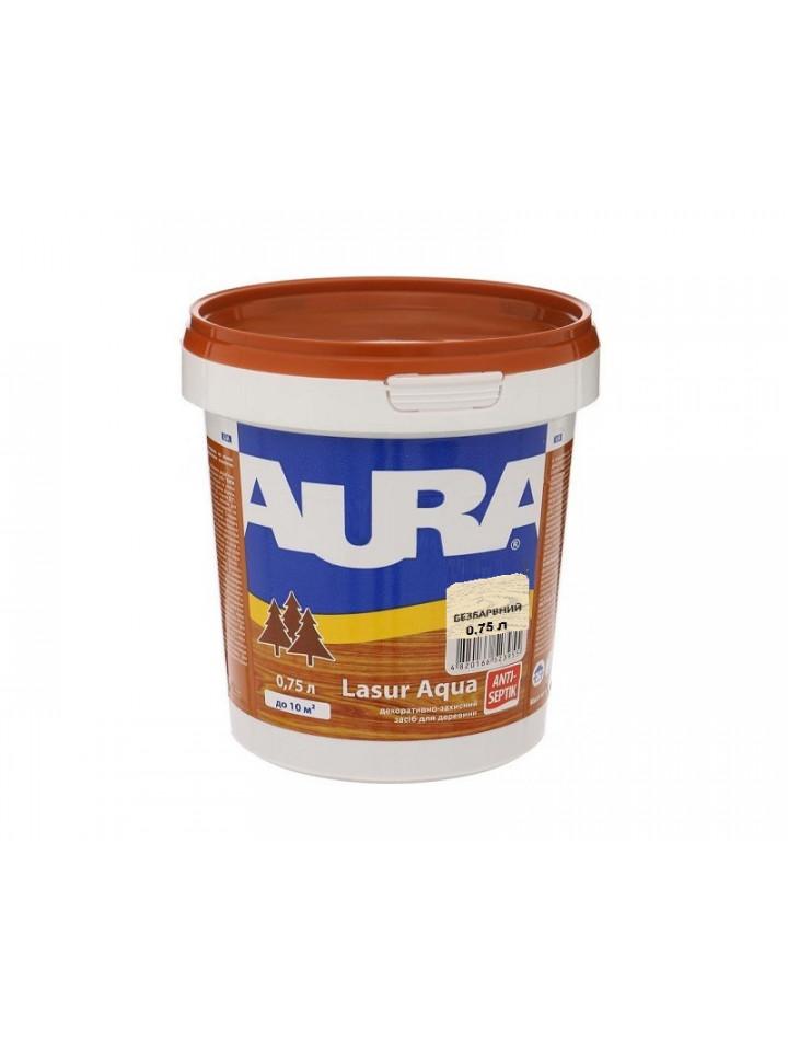 Лазурь-лак акриловый AURA LASUR AQUA для древесины