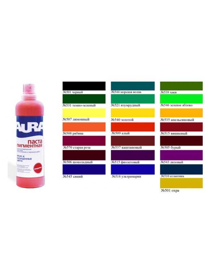 Краска полнотоновая AURA KOLORANT для колерования