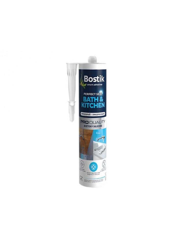 Герметик силиконовый BOSTIK BATH & KITCHEN A санитарный