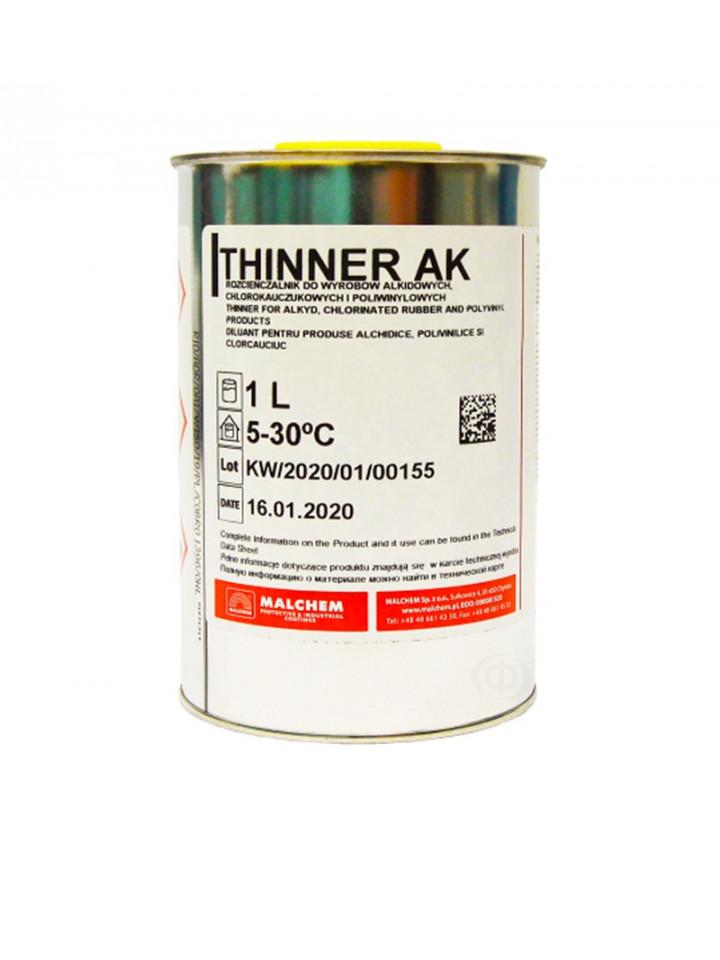 Растворитель органический MALCHEM THINNER AK для материалов MALCHEM