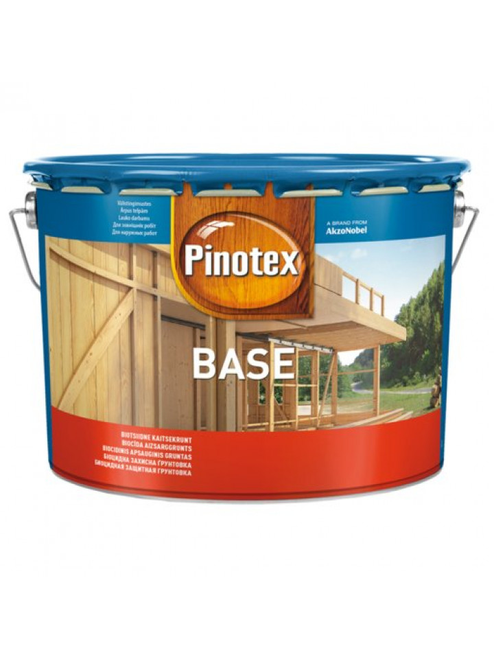 Грунтовка антисептична PINOTEX BASE для деревини