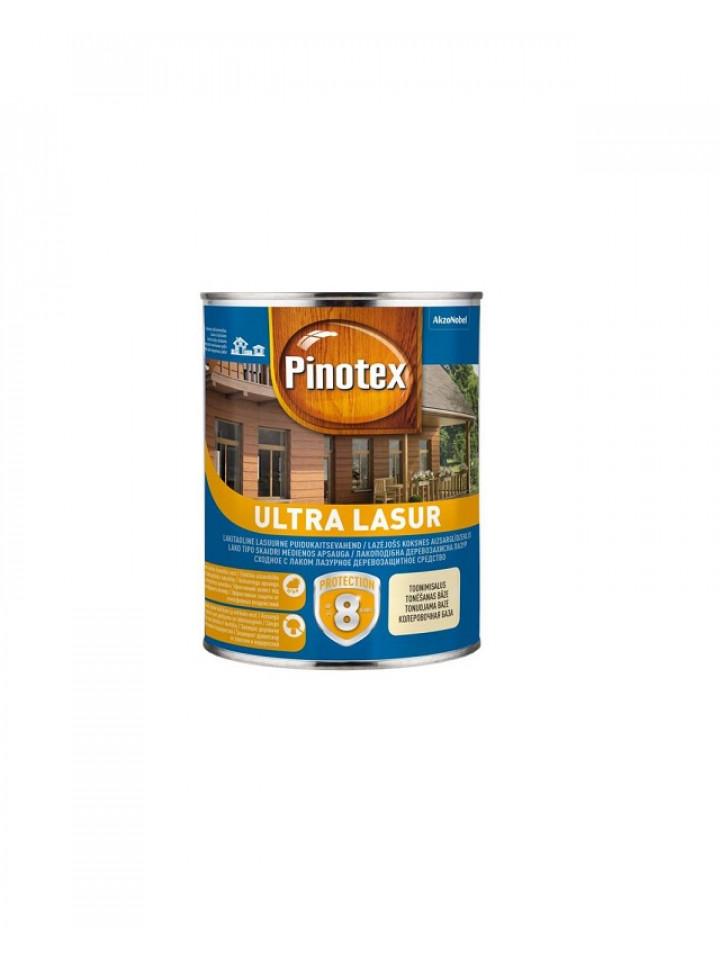 Лазурь-лак антисептический PINOTEX ULTRA LASUR для древесины