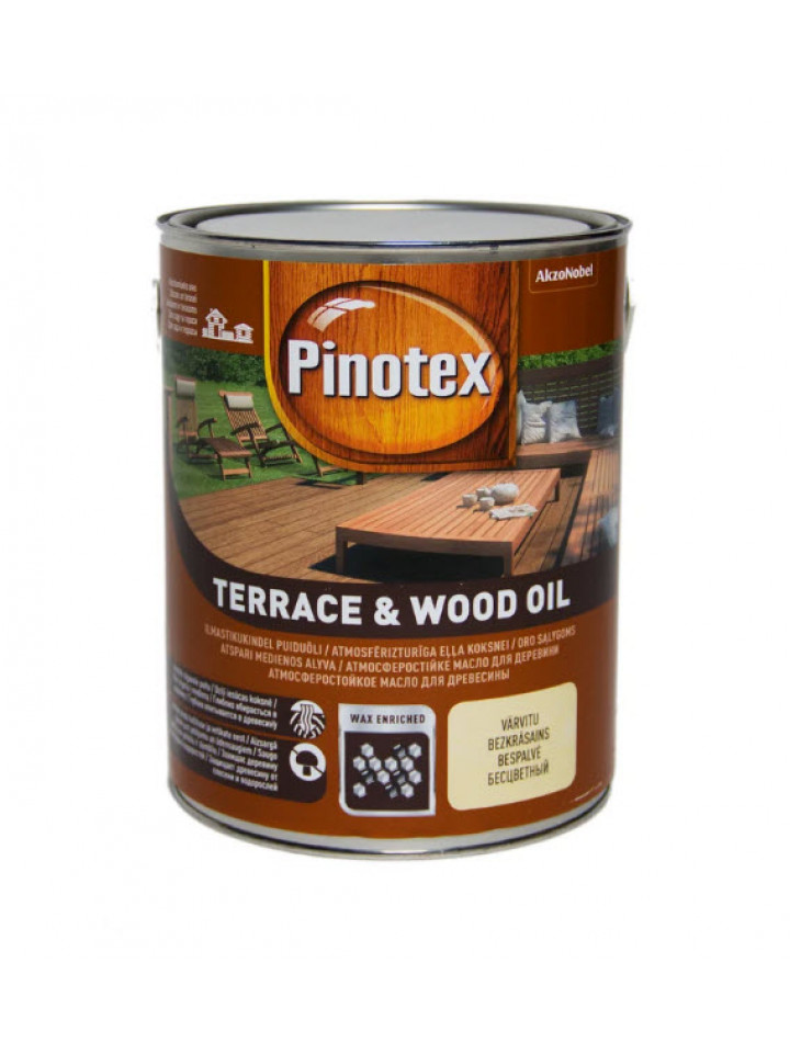 Масло антисептичну PINOTEX TERRACE WOOD OIL для деревини
