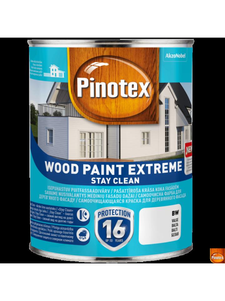 Фарба антисептична PINOTEX WOOD PAINT EXTREME для деревини