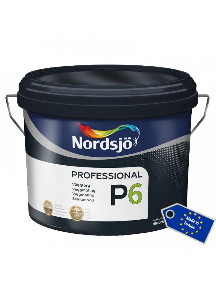 Краска акриловая SADOLIN PRO P6 интерьерная