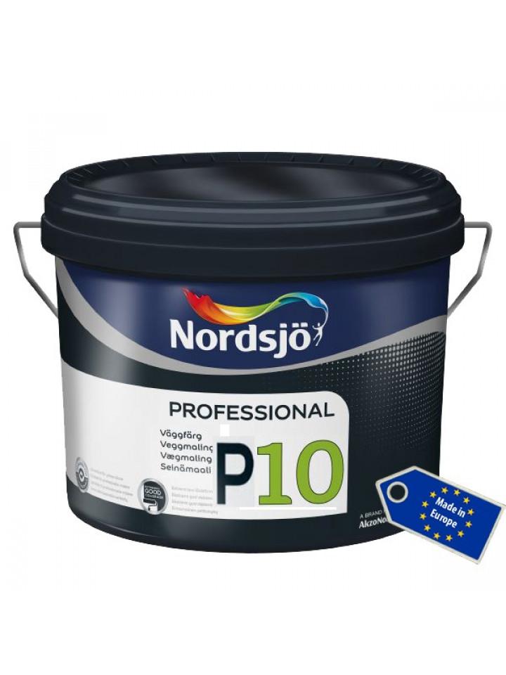 Краска акриловая SADOLIN PRO P10 интерьерная