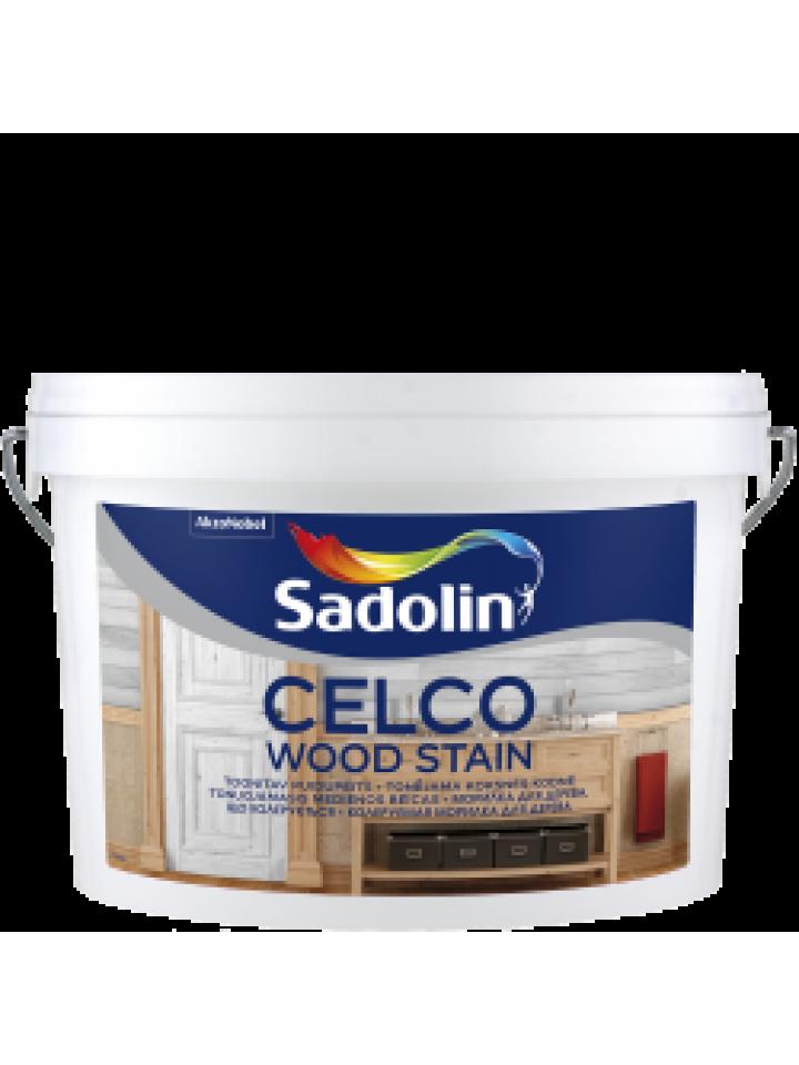 Морилка акрилова SADOLIN CELCO WOOD STAIN для деревини