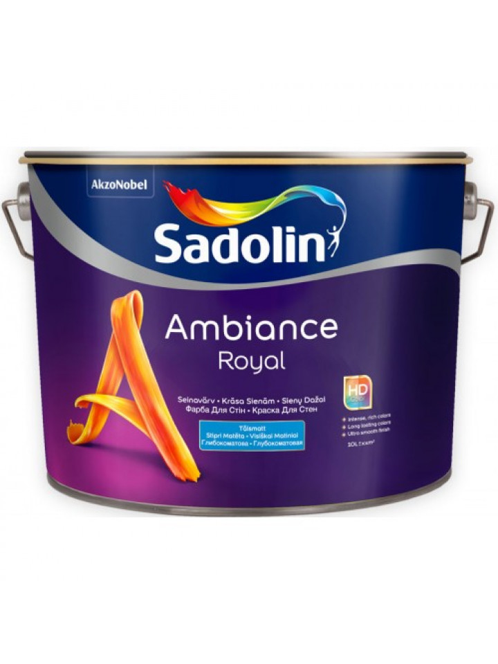 Фарба акрилатна SADOLIN AMBIANCE ROYAL інтер'єрна