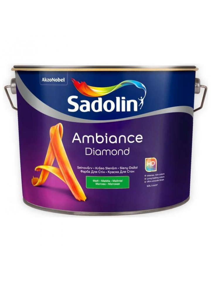 Фарба акрилатна SADOLIN AMBIANCE DIAMOND інтер'єрна