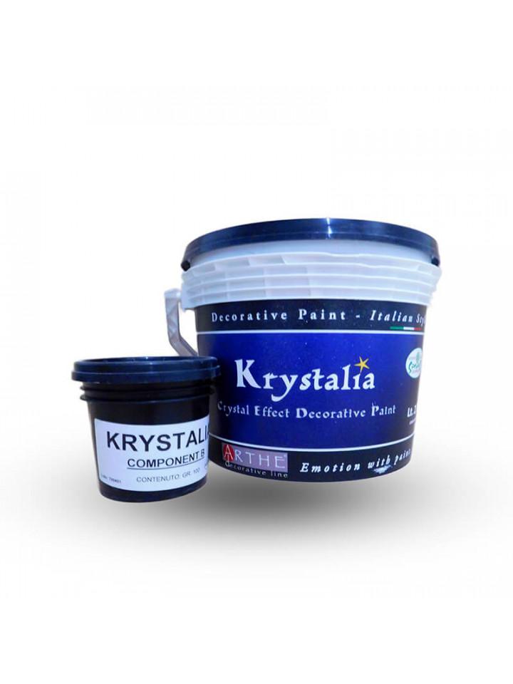 Добавка мерцающие кристаллы SPIVER KRYSTALIA COMPONENT В декоративная