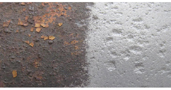 Як видалити іржу з металу перед фарбуванням?