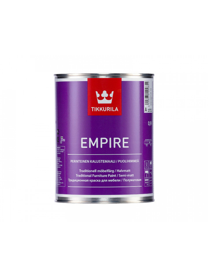 Емаль TIKKURILA EMPIRE для меблів